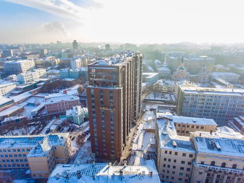 """ЖК """"Басманный,5"""" - 4-х комн, 121,3кв.м, 11 этаж - Фото 3"""