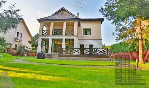 Загородный дом в окп Рублевский, 330м, 24сотки - Фото 1