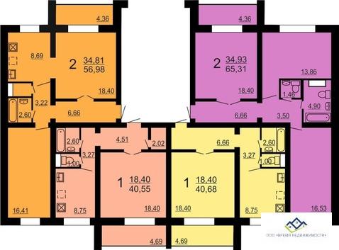Продам 2-комнат квартиру Конструктора духова 2,4эт, 60 кв.м. - Фото 2
