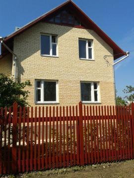 Дача кирпичная на 6 сотках д. Тишнево - Фото 1