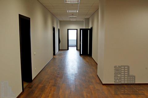 Офис 509м с отделкой в 17-этажном бизнес-центре у метро - Фото 1