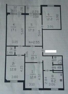 Продается 5-ти комнатная квартира в Тосно - Фото 2