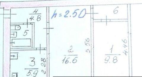 2-х комн кварт, 2/5 кирпич,44 кв, м, г. Пересвет, Сергиево-Посадского р - Фото 1
