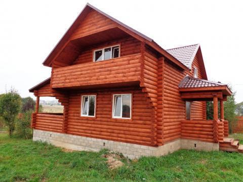 Продается новый дом с коммуникациями и газом в жилой деревне - Фото 2