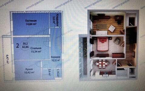 Продается 2-комнатная квартира г. Кашира - Фото 5