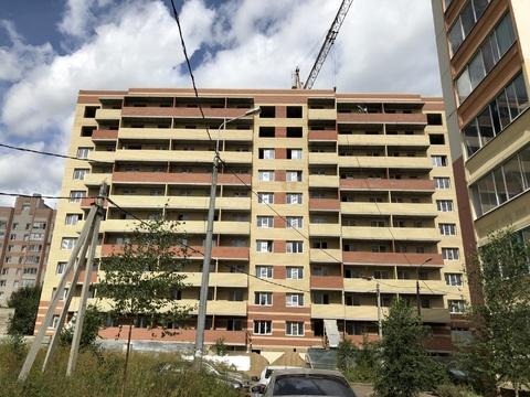 2-х комн. квартира в строящемся доме, ул. Батова, 10 а. - Фото 1