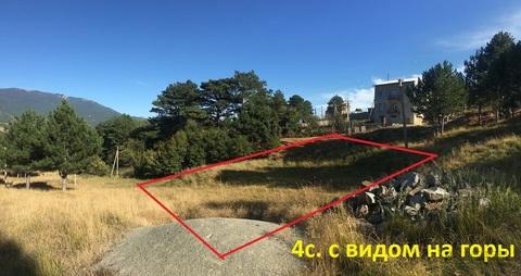 Участок 4.1 сот. в Ялте с видом на горы, на границе с заповедником - Фото 3