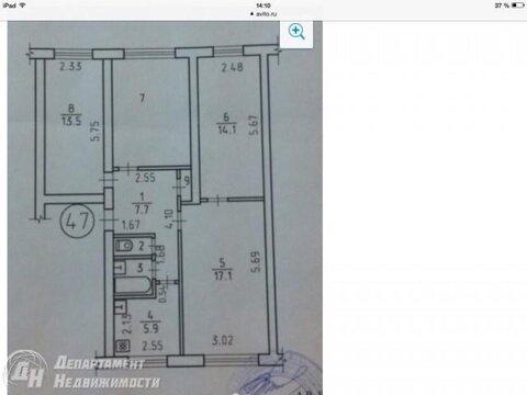 Продам четырехкомнатную квартиру в Ленинском районе