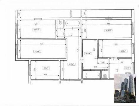 Продается 4-х комнатная квартира на Алксниса 40. - Фото 1