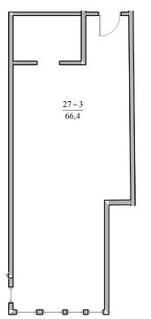 2-к квартира, 66,3 м2, 5/5 эт, в Ялте с видом на море - Фото 2