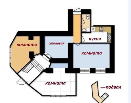 Продам 4-х комнатную квартиру в р-не Автовокзала, на ул. Киевской - Фото 2