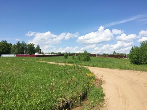 15 сот. с панорамным видом, д. Сазонки, 45км от МКАД по Дмитровскому ш - Фото 1