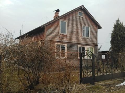 Дачный дом на 6 сотках в СНТ вбл. д. Ильятино, Петрищево Рузский район - Фото 1