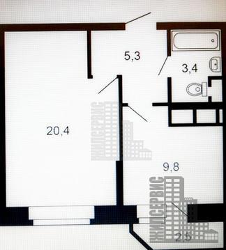 Видовая квартира в новом монолитном доме, 23 этаж - Фото 4