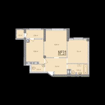 Продам 2-к квартиру, Севастополь г, улица Тараса Шевченко 49 - Фото 1