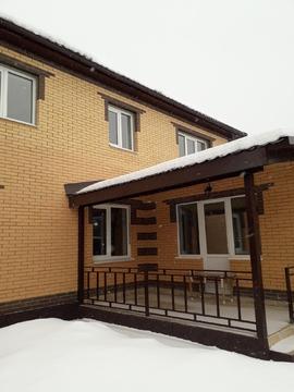 Двухэтажный дом 148 кв.м + 50 кв.м. гостевой в п.Тучково - Фото 1