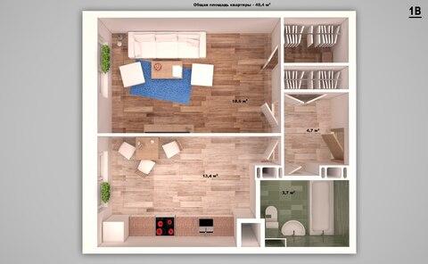 Покупайте однокомнатную квартиру с ремонтом в новом доме! - Фото 2