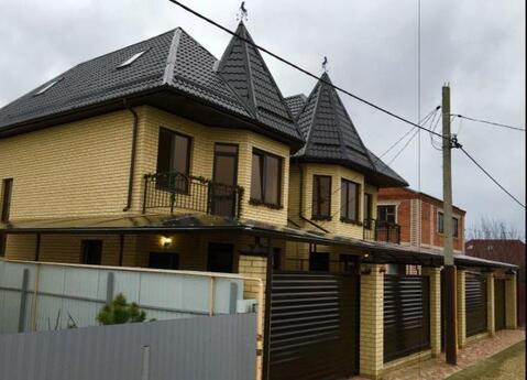 Коттедж 180 м2 с баней на участке в Краснодаре - Фото 3