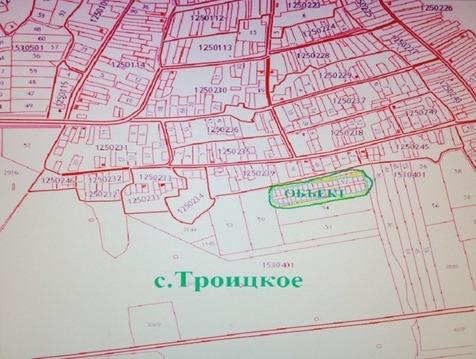 Продажа участка, Липецк, С.Троицкое - Фото 1