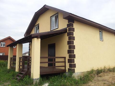 Продается новый блочный дом 160м2 на 10 сот. д.Малышево, Раменский р-н - Фото 2