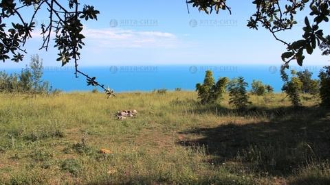 Продается видовой участок 10 соток в Алупке - Фото 2