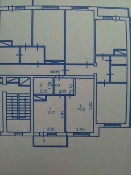 Продажа квартиры, Пенза, Ул. Антонова, Купить квартиру в Пензе по недорогой цене, ID объекта - 322052785 - Фото 1