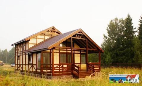 Новый деревянный дом 115 кв.м на берегу вдхр - Фото 1