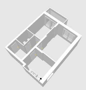 Палитра 5.2 16 этаж 53.87 2к - Фото 3