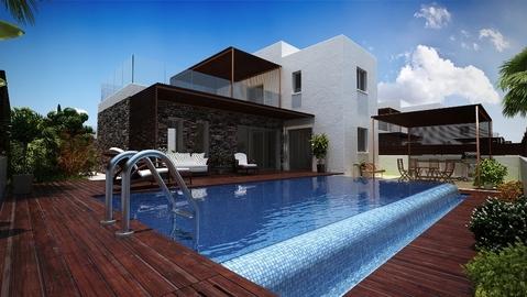 Новые замечательные 3-х и 4-х спальные Виллы на набережной зоне Пафоса - Фото 1