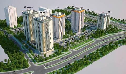 Продажа 1 комнатной квартиры, г. Минск, ул. Алибегова, дом 22 - Фото 1