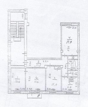 Продается 4-комнатная квартира г. Жуковский, ул. Жуковского, д.18 - Фото 3
