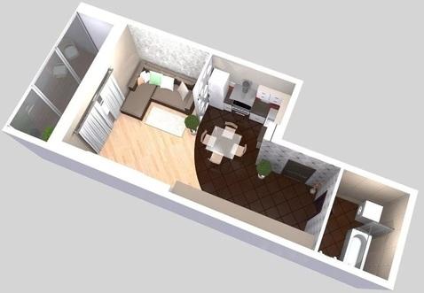 Достойная площадь для первой квартиры в новостройке! ( ЖК Вертикаль) - Фото 3