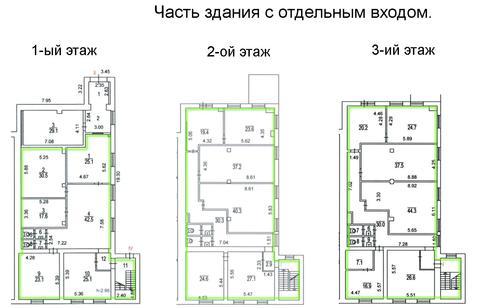 Аренда офиса 637.0 кв.м. Метро Щукинская