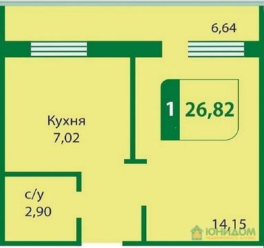 1 комнатная квартира, ул. Мебельщиков, Лесобаза - Фото 5