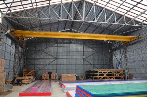 Производственно-складская база 1600 кв.м. на участке 1,12 га. - Фото 1