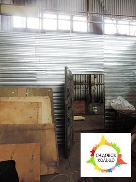 Холодное помещение открытой планировки, двое широких ворот, разгрузка - Фото 2