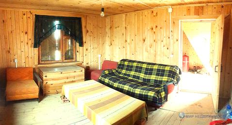 Дачный домик из бревна в cyn рядом с городом Волоколамском, Купить дом в Волоколамске, ID объекта - 504641373 - Фото 1