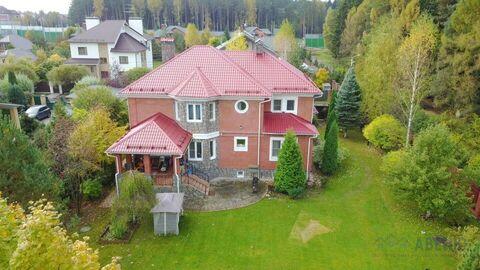 Современный жилой дом 387 кв.м, крайний к лесу, участок 14 соток, ИЖС. . - Фото 1