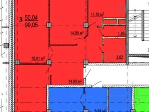 Продажа трехкомнатной квартиры на улице Костюкова, 11в в Белгороде, Купить квартиру в Белгороде по недорогой цене, ID объекта - 319751932 - Фото 1