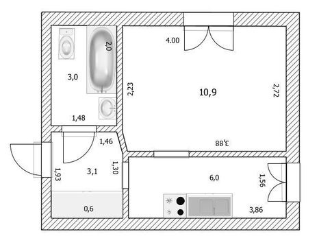 1-к квартира, ул. Малахова, 65 - Фото 1