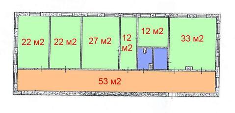 Офисное помещение 400 м2 в центральной части города - Фото 2