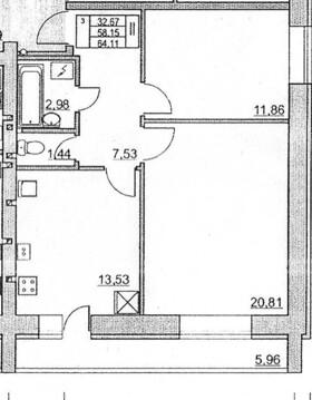 1 или 2 ком.квартиры в новом доме по ул.Вермишева - Фото 5