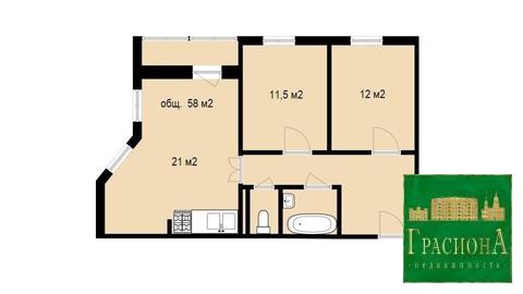 Квартира, Энергетиков, д.15 к.А - Фото 2