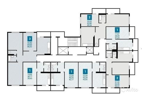 1-к квартира, в новом монолитном доме - Фото 3