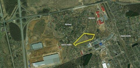 Продается земля пром назначения 7,3 га в г.Домодедово - Фото 1