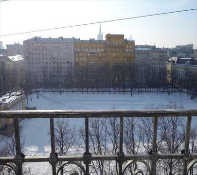 Вид на Патриаршие пруды! Огромная роскошная квартира! Москва, Малая . - Фото 2