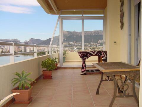 Трехкомнатные апартаменты на набережной города Кальпе - Фото 2