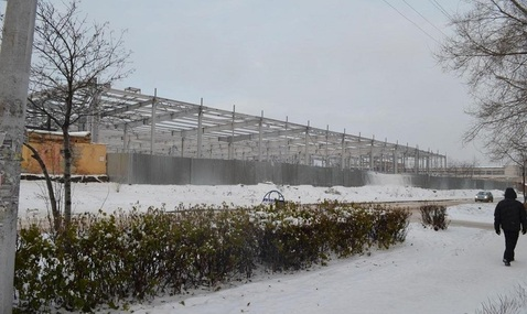 Незавершённое строительство супермаркета в г. Новокузнецк - Фото 1