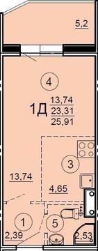 Продаю1комнатнуюквартиру, Тверь, улица Склизкова, 102, Купить квартиру в Твери по недорогой цене, ID объекта - 321877755 - Фото 1