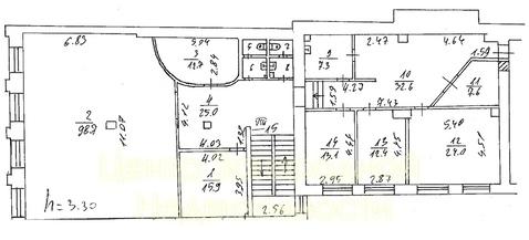 Отдельно стоящее здание, особняк, Павелецкая, 540 кв.м, класс вне . - Фото 3